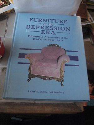 Furniture Of The Depression Era Reference Book By Robert W. & Harriett Sw