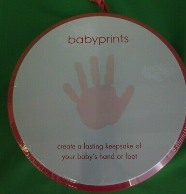 Pearhead Babyprints Newborn Handprint or Footprint Imprint Kit - Pink