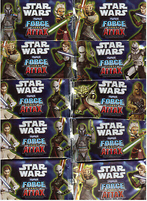 Star Wars Clone / Force Attax Serie 2/10 Bustine/Booster Nuovo Originale Topps