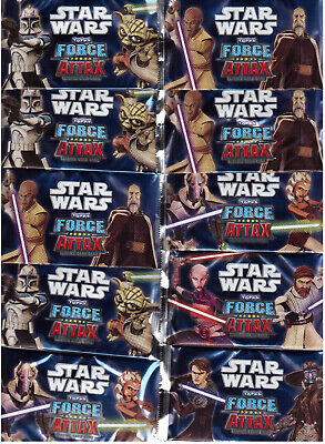 Star Wars Clone / Force Attax Serie 1/10 Bustine/Booster Nuovo Originale Topps