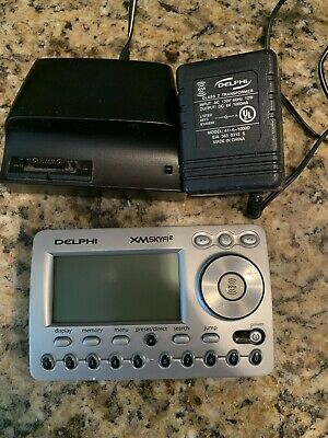 Bundle Delphi SA10101 SkyFi2 XM Satellite Radio Receiver