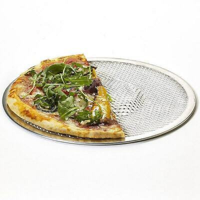 Professional Round Pizza Oven Baking Tray Barbecue Grate Nonstick Mesh Net Good