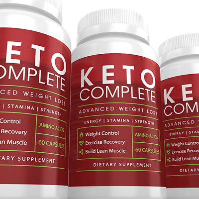 3 - Pack Keto Complete Advanced Weight Loss Dietary Supplement Ketosis Diet
