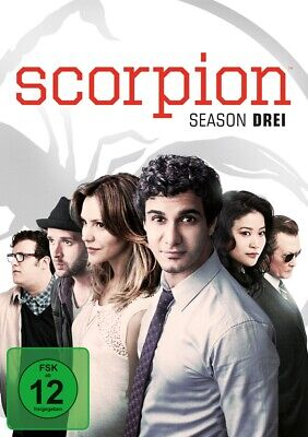 Elyes Gabel - Scorpion. Staffel.3, x DVD