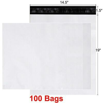 100 14.5x19 Poly Mailers Shipping Envelopes Self Seal Bags 2.5mil 14.5 x 19