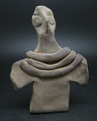Ancient Terracotta Indus Valley Pottery Idol Statue