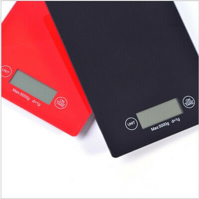 5kg/1g Kitchen Digital Scale LCD Electronic Balance Food Weight Postal Diet AU