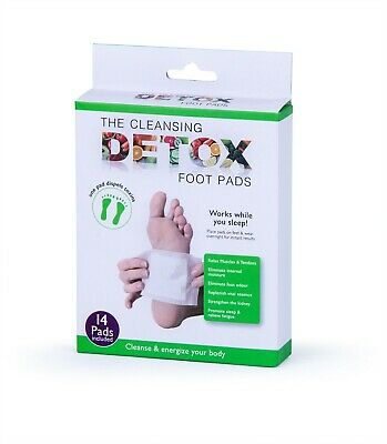 Detox Herbal Cleansing 14Pcs Foot Pad Removal Relax Weight Loss Slimming Health