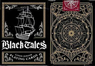 Black Tales Playing Cards - New - USPCC - RARE