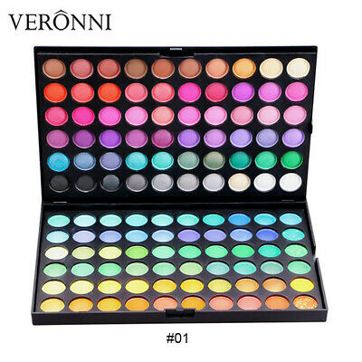 Matte Shimmer Earth Warm Color Eyeshadow Palette Makeup Eye Shadow 120 Colors