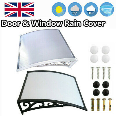 Front door canopy porch rain protector awning lean-to roof shelter