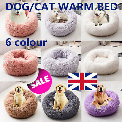 Bedsure Soft Cozy Warm Dog Cat Bed S/M/L Size Pet Bed Kennel for Pet Sleeping
