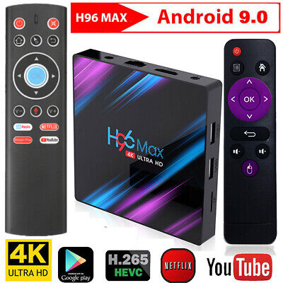 H96 MAX RK3318 Smart 4K TV BOX Android 128GB 64GB H96 Mini H6 T1+ Fly Air Mouse