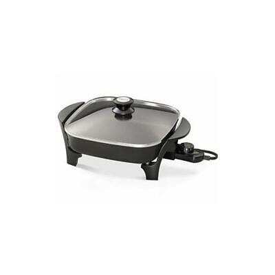 "Presto 06626 11"" Electric Skillet Glass Lid"