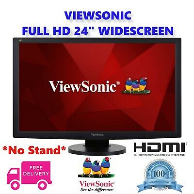 "24"" Full HD HDMI Gaming PC Freesync Monitor 1080p LED LCD WIDESCREEN - NO STAND"