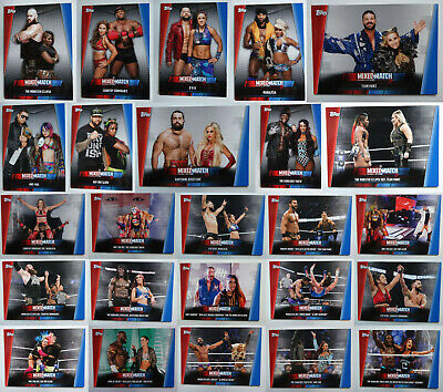 2019 WWE Women's Division Mixed Match Challenge Wrestling Cards You U Pick List