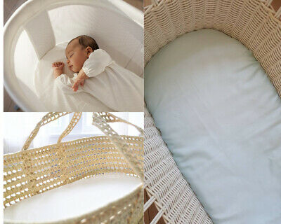 Moses Basket Terry Waterproof Baby Nursery Mattress Protector Cover 75 X 35 Cm