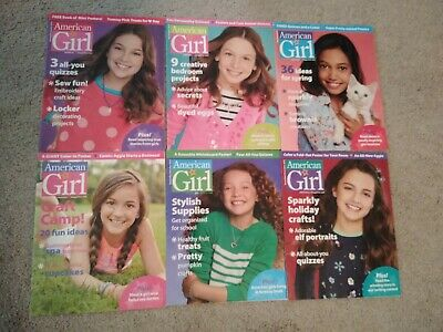 American Girl Magazine Lot  2015 - all 6 issues..