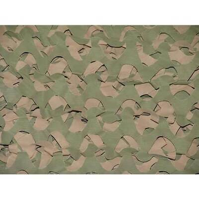 "Camo Unlimited Wm01 Cu Camo Netting Basic Series Ultra-Lite 3'7""X9'10"" Grn/Brn!"