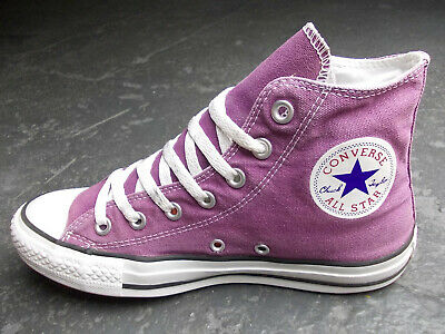CONVERSE ALL STAR Chucks 39 6 Lila Flieder Pink Weiss