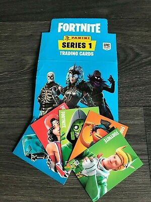Panini FORTNITE Series 1 Trading Cards 4 Cards For £1 Base Cards 1-100 See List