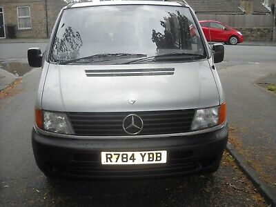 1997.mercedes-benz-vito classic 7 seats dualiner bus.mot till march 2020.bargain