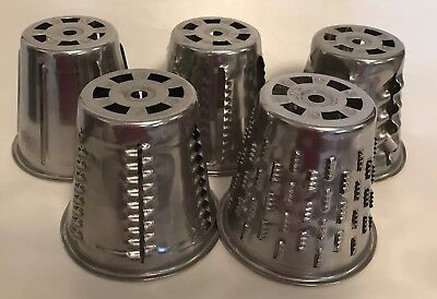 Vintage Saladmaster Food Processor Replacement Blades Cones Lot Of 5