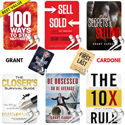 Grant Cardone - [8] Sales Audible Books + BONUSES ⚡ Instant Delivery ⚡