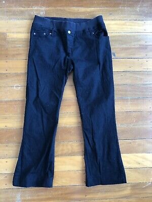 Bub2B Maternity Size 12 Black Jeans Have Been Hemmed