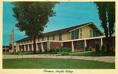 Postcard Ottumwa Heights College, Ottumwa, Iowa - used in 1966