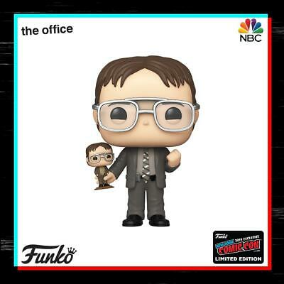 🚇Pre-Order🚇Funko Pop!🚇Nycc 2019🚇Shared Exclusive🚇Dwight Schrute🚇Office🚇