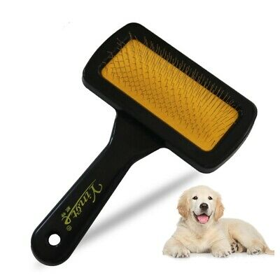 Pet Grooming Comb Cat Dog Fur Shedding Trimmer Hair Grooming Brush Puppy Tool