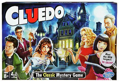 Hasbro Cluedo The Classic Mystery Board Game - 2+ Players 8+ Years