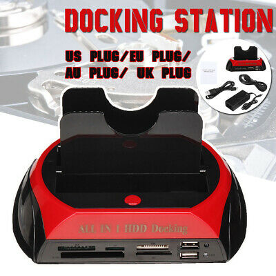 Docking Station Per Hard Disk All In 1 Sata Ide 3,5'' 2,5 Player Hdd Box Case