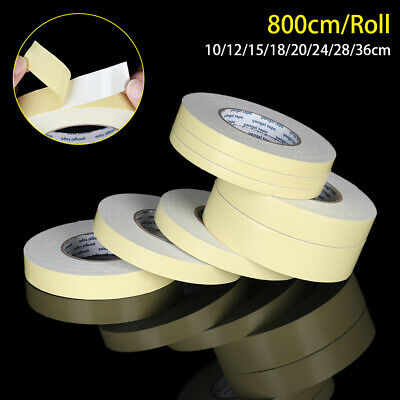 Self-Adhesive Strong Double Sided Yellow Paper White EVA Foam Tape For Mounting