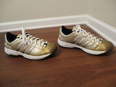 Details about adidas SS2G US 11 Superstar 2005 NWT White leather Black striped
