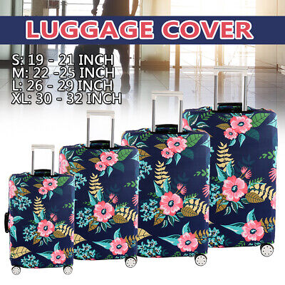 """18""""-32"""" Elastic Travel Luggage Cover Protector Thick Suitcase Cover Anti Scratch"""