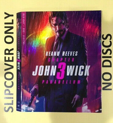 John Wick Chapter 3: Parabellum (2019) - Blu-ray Slipcover ONLY - NO DISCS
