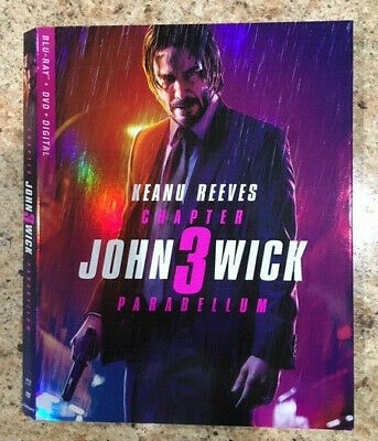 John Wick Chapter 3: Parabellum & Aladdin - Blu-ray Slipcovers ONLY - NO DISCS