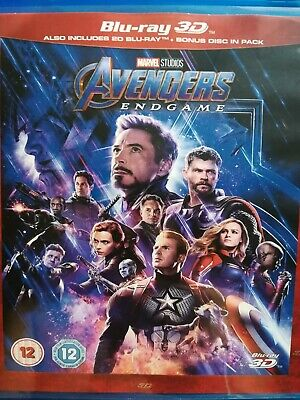Avengers: Endgame (2019) 3D Blu-ray Hd region free ship now !