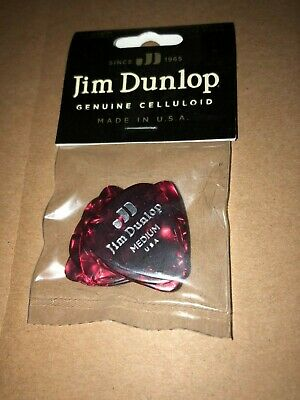 12 pack Dunlop PVP1.01 Light//Medium Assorted Guitar Pick Variety Pack