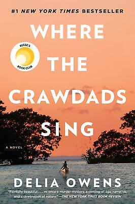 Where The Crawdads Sing By Delia Owens New Best