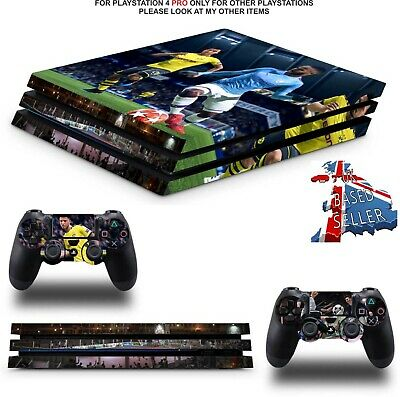 Fifa 20 Ps4 Pro Skins Decals (Ps4 Pro Version) Textured Vinyl Skin Wrap