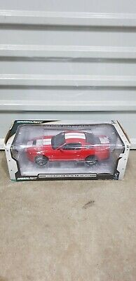 1 18 Greenlight 2010 Ford Mustang Shelby GT 500 in Red