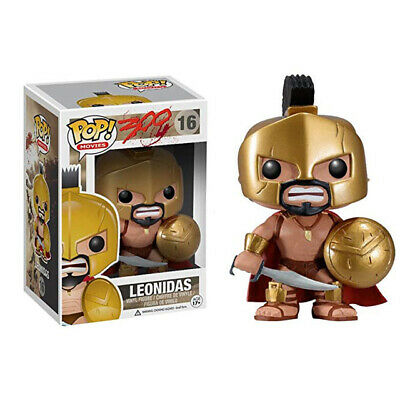 NEW Funko Movie pop King Leonidas 16# 300 Vinyl Action Figures Toy Model Rare