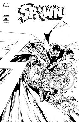 Spawn 300 Greg Capullo Todd McFarlane Sketch Variant 1st She-Shawn Snyder New NM