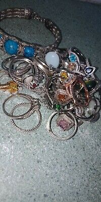 Bluk Of Rings Some Are Real Sliver All Mix