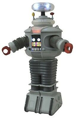 LOST IN SPACE B-9 RETRO ELECTRONIC 10 inch ROBOT DIAMOND SELECT NEW!