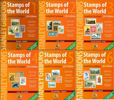 STANLEY GIBBONS 2014 Complete Worldwide Catalogue A-Z