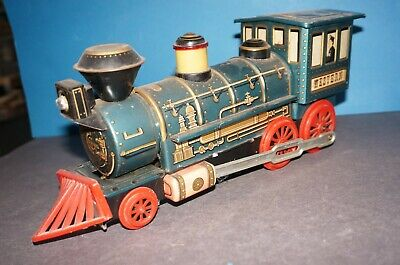 "RFB-13] Trade Mark Modern Toys Blechlokomotive "" WESTERN "" Made in Japan"